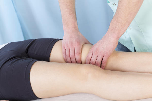 How can you relieve knee joint pain effectively without much pain?