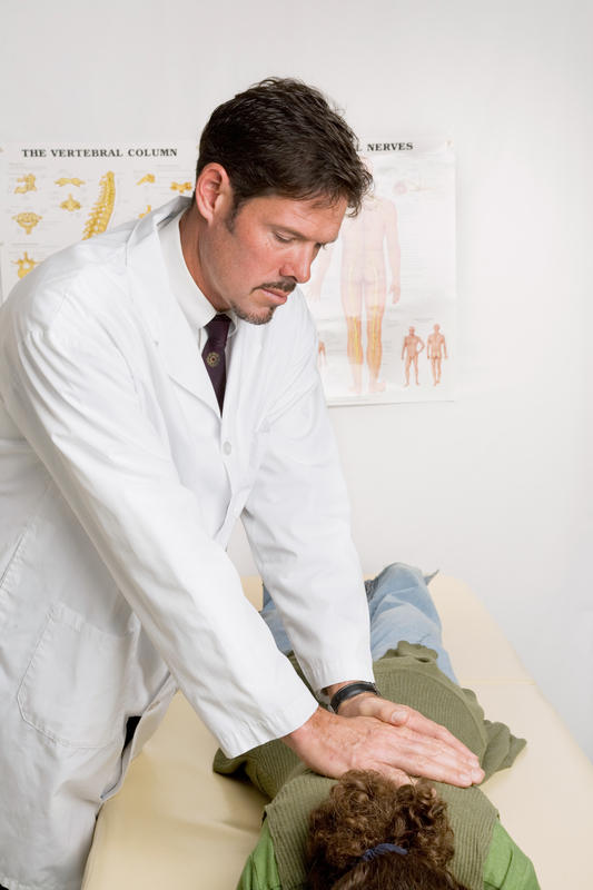 Should a chiropractor adjust back for dislocated rib?