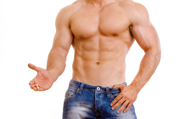 What are the side effects associated with anabolic steroids?