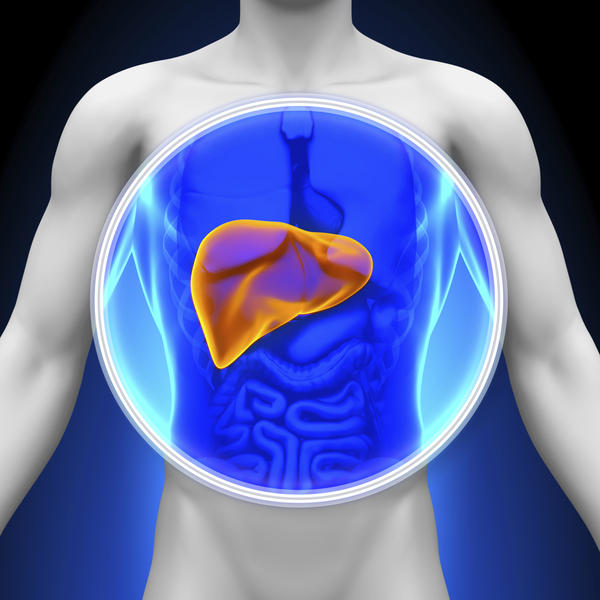 I have a enlarged liver can I die from it, or rupture it and then die?