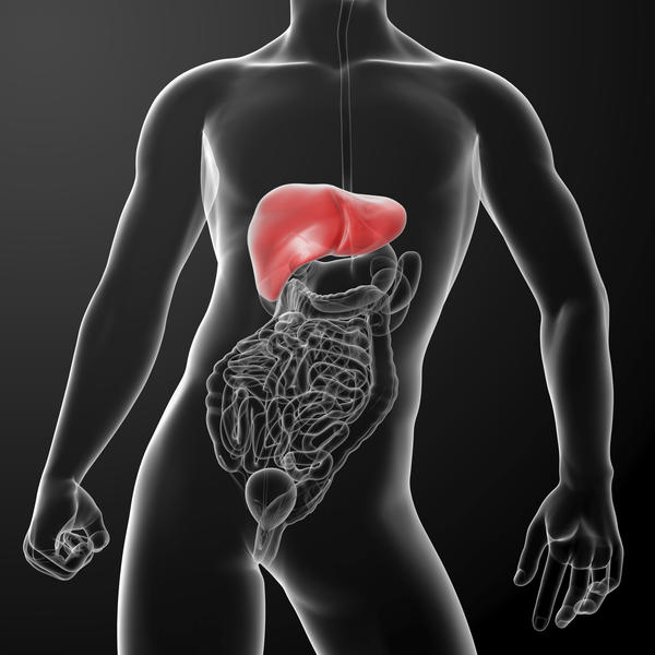 What could cause the following symptoms: sgpt 214, sogt 74, enlarged liver, fatty liver, and RA factor negative?