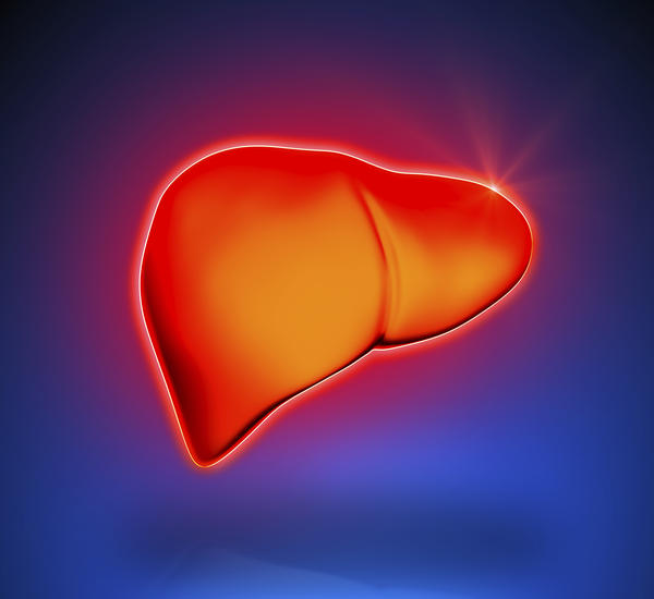 How long can someone live with an enlarged liver due to cancer?