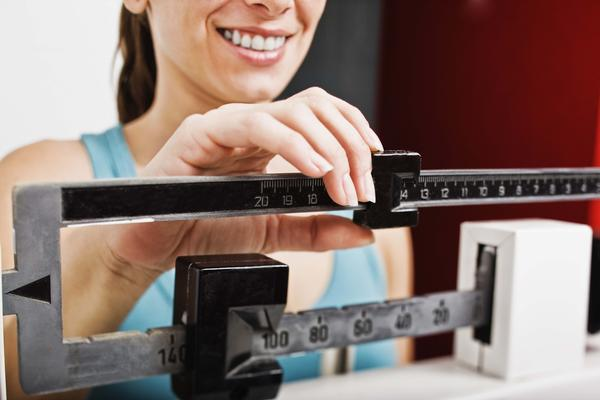 What is the average weight loss when taking metformin?