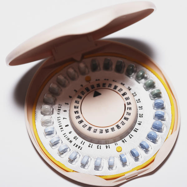 "If I always have a brown discharge during ""period"" (no red) while taking birth control for many months, did birth control pill fail me?"