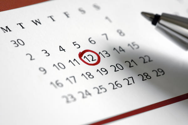 How to you track the days of your menstrual cycle?
