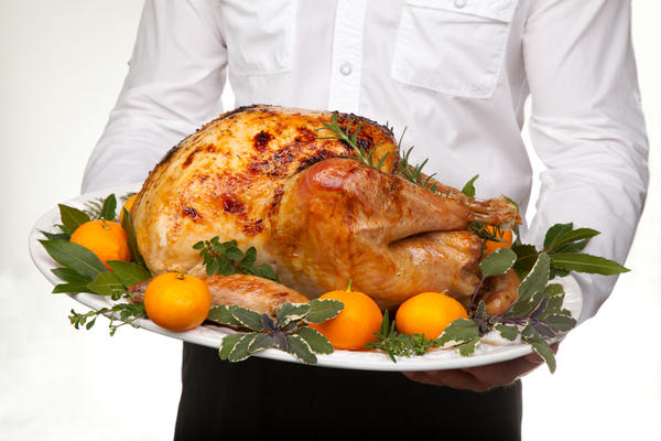 After eating almost half a turkey, is it normal to have a large bowel movement?