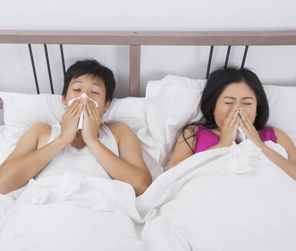 Hello last week I had the flu. I am over it, but I can't seem to get rid of the runny nose, and some film. What if anything can I take over-the-counter to get rid of it before it gets worse? Thanks!