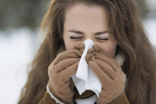 What to do if there's constant runny nose, watery eyes?