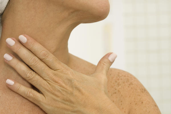 Can a chiropractic neck adjustment cause throat tightness sensations?