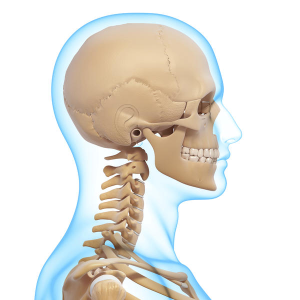My right neck muscle in the front of neck is bigger than my left. I am right handed. Should I be worried?