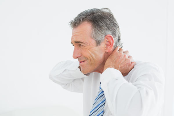 What is scattered reactive lymph nodes within neck?