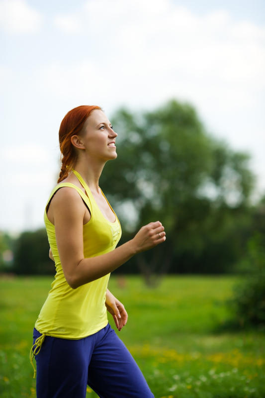 Is it safe to jog shortly after having bone taken from your hip for a bone graft to your jaw?