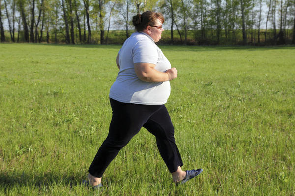 What are the most prominent health risks for elderly folk who are obese?