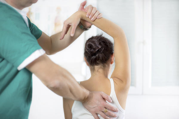 How can I biuld my shoulder muscle up after recovering from shoulder dislocation?