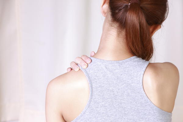 Is it to pop your back around the shoulder blades?