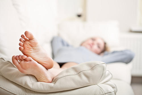How can I alleviate toe joint pain from injury?