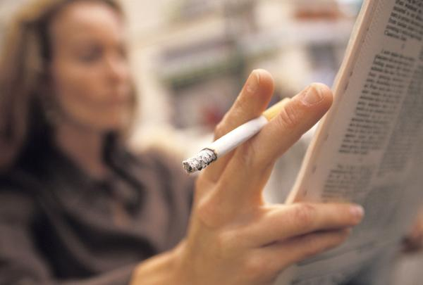What should I avoid when I want to quit smoking?