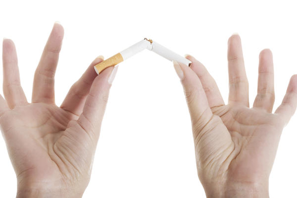Which types of effects does smoking cigarettes have on a person mentally?