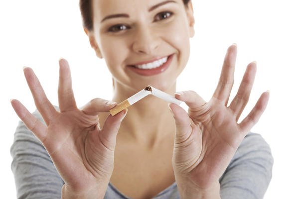 How long to rid blood of continine after smoking?