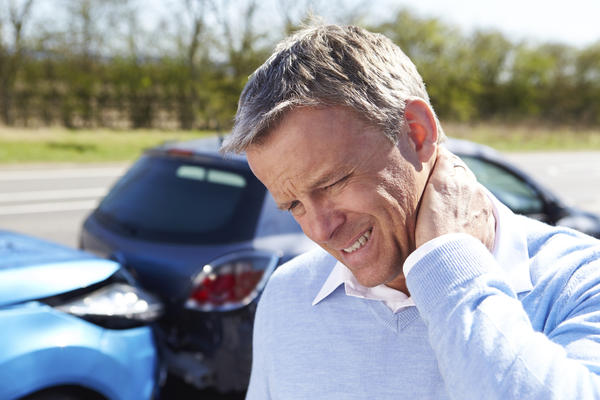 How can I tell if my whiplash after a car accident will get better?