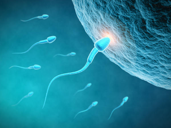 Can you get Pregnant if the sperm hit the air ?