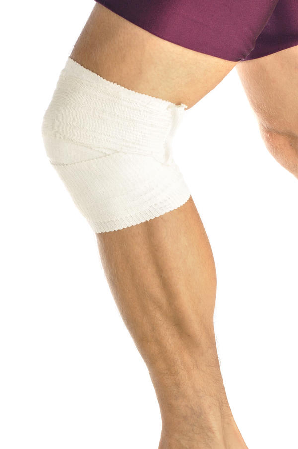 What could be the cause for the pain in my knee? Seems like the bursa sac is scooting forward on me.
