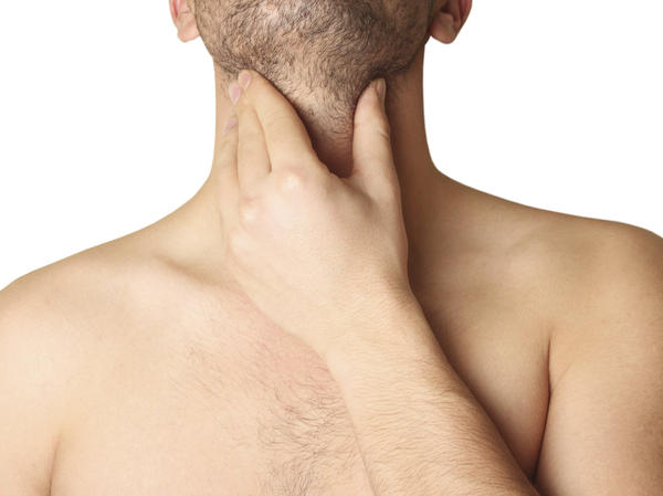 Why is my left of neck is swollen and throat hurts to swallow?