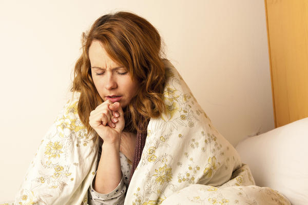 Why does cough from bronchitis get worse at night?