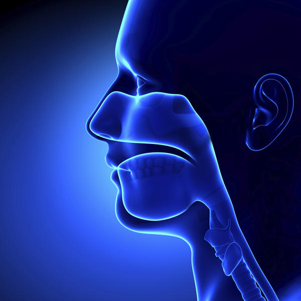 How do I present a speech if I have painful ulcers around throat?