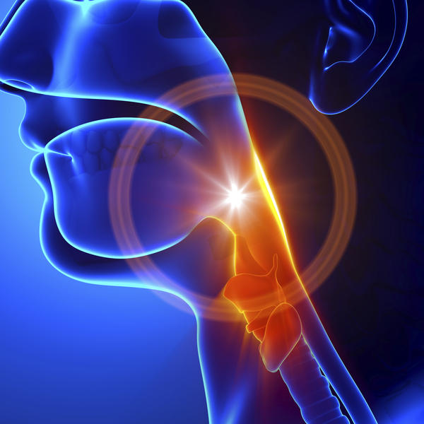 What are common causes of a burning sensastion in the throat?
