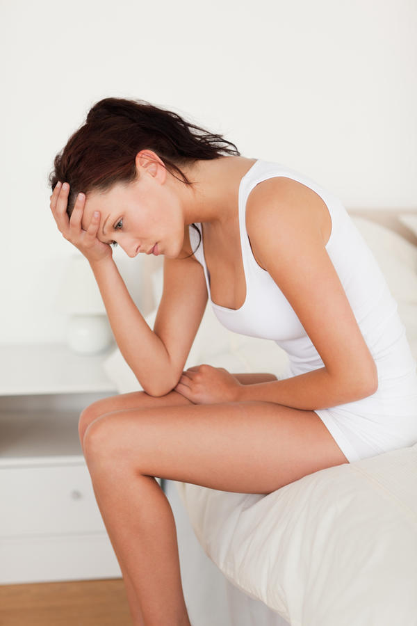Tender breast, cramps, nauseous and exhausted after period?
