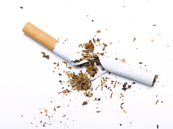 What is the best way to stop smoking..?My bf just started to stop.. But its caused him to eat and sleep more. What can he do?