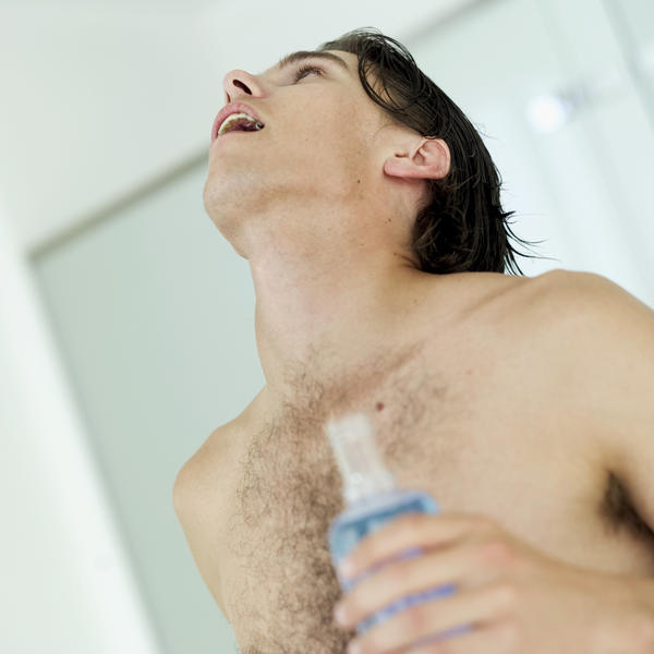 During oral care, breathe through my nose during squishing, holding  water or mouthwash. It is possible to inhale the water up nose during this time?