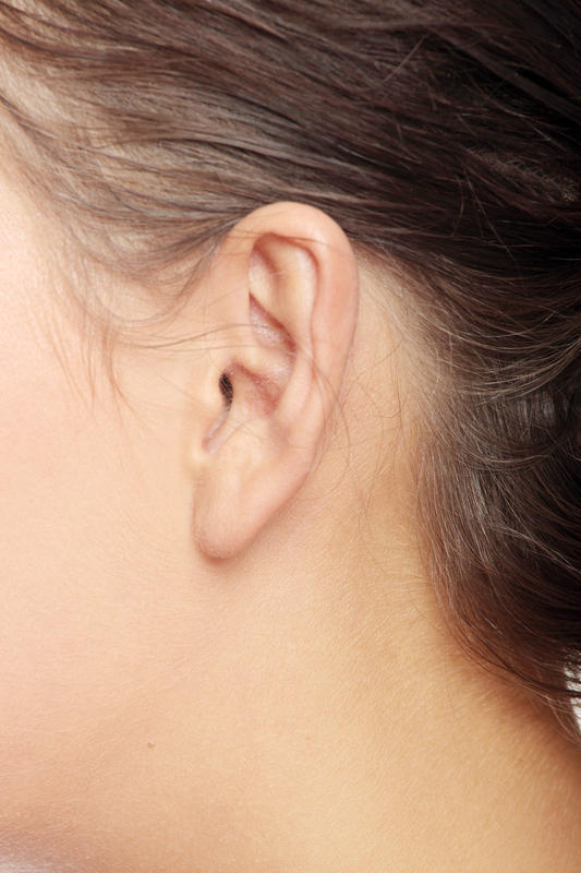 Can a reactive post auricular lymph node be fixed?