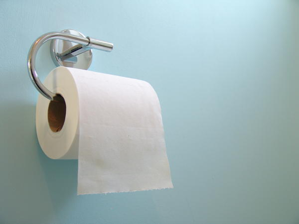 Is it normal to have hemorrhoids for years?/ secretion from penis while passing a bowel movement? I've been noticing for a couple years now a majority of the time i pass a bowel movement there is a little blood on the toilet paper. I went to the doctor an