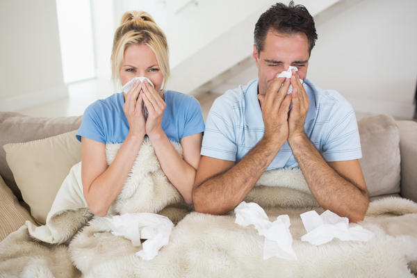 What kind of flu like symptoms do I have, when my chest hurts & a bad cough?