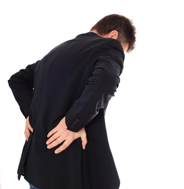 Back pain right side in the middle when move or breath?
