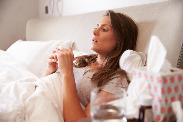 What's the best way to help get rid of the flu?