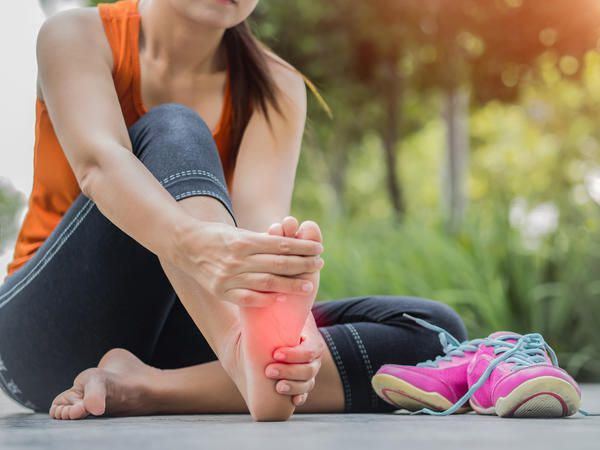 What to do for plantar  fasciitis?