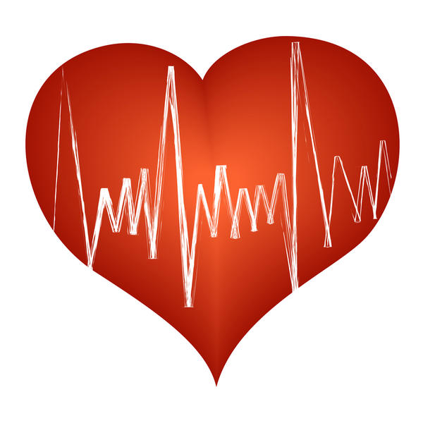 Echo stress test for slow heart rate exercising Have had shotness of breathe and chest tightness.Found spots on heart during test.What does this mean.