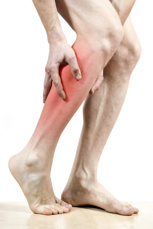 What can you do for leg cramps at night and pain throughout the day?