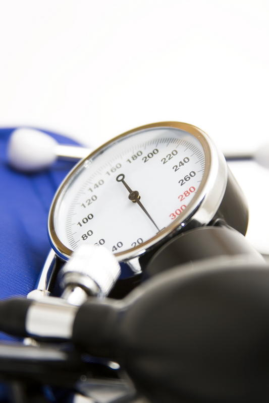 What are the symptoms of high blood pressure?