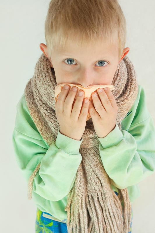 Remedy for persistent cough in a nine month child?
