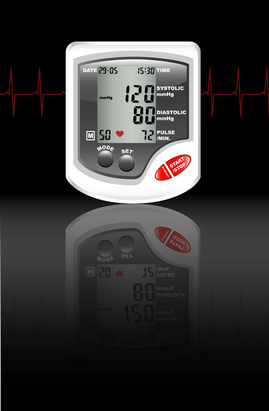 "What are the causes of blood pressure to fluctuate many times during the day from ""high"" to relatively ""normal""?"