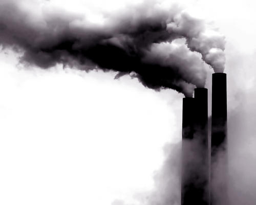 What respiratory disease is considered a long-term effect of air pollution on us?