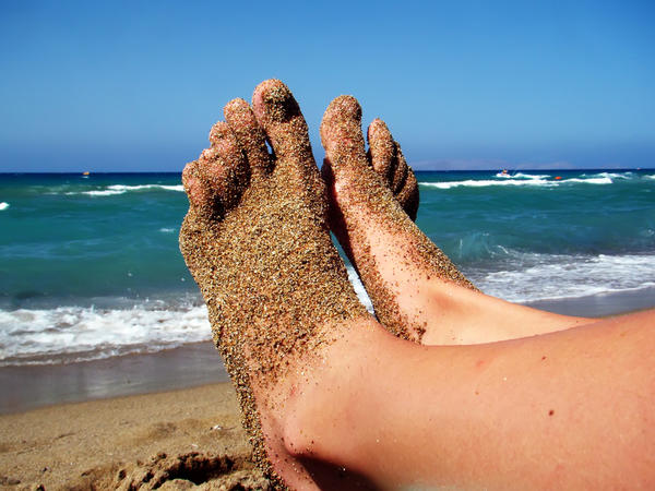 How can I put an end to fungus and sweaty feet?