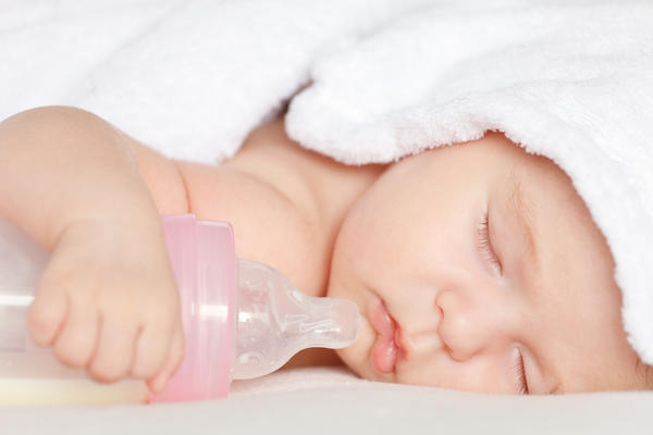 What is the definition or description of: Baby bottle syndrome?