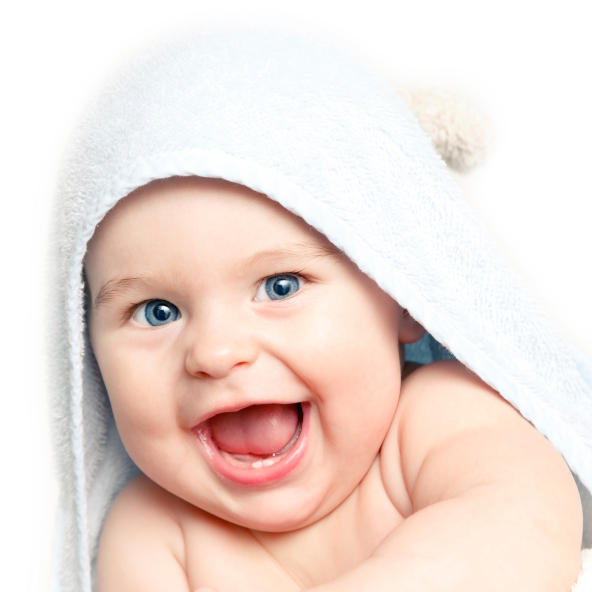 Baby has pimples that turn red with sweat or bath but stay white when normal on back, chest, and arms. Is it acne, heat rash, or allergy from vaccine?