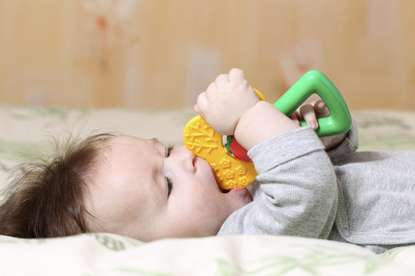 What are some signs of teething?