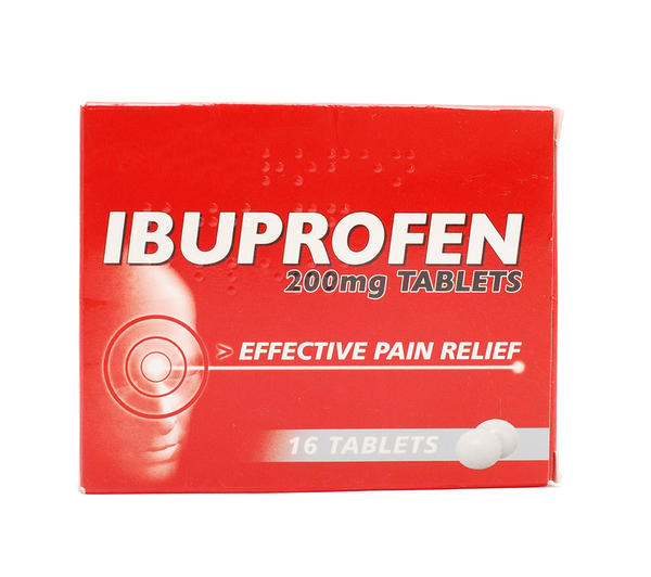 What is the long term affect of taking 20 600mg ibuprofen?